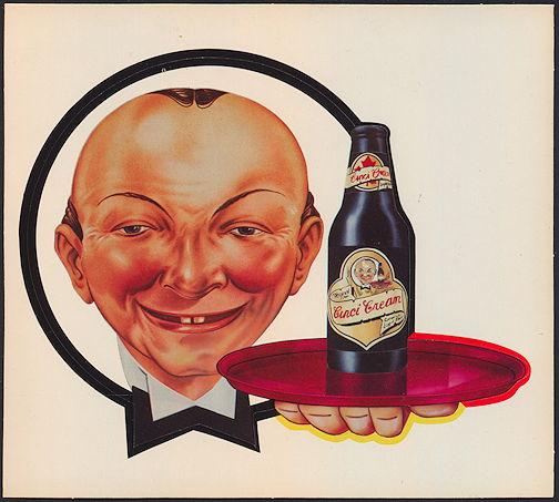 #SP067 - Larger Cinci Cream Beer Decal - As low as $1 each