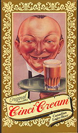 #SP064 - Cinci Cream Beer Tent - As low as 75¢ each