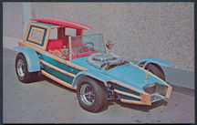 #CA503 - 1960s Calico Surfer Postcard Print - George Barris - As low as $1.50 each