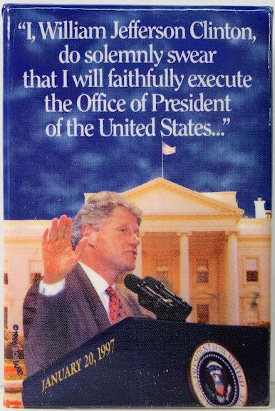 #PL360 - Uncommon 1997 Bill Clinton Inauguration