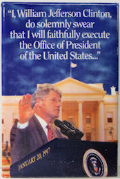 #PL360 - Uncommon 1997 Bill Clinton Inauguration