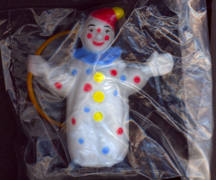 #TY537 - Clown with Hoop Cake Topper