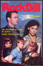 ##MUSICBG0048 - August 1985 RockBIll Magazine - Cock Robin and A-HA! Cover