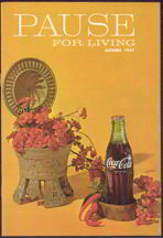 #CC216 - 1967 Coca Cola Pause for Living Magazine