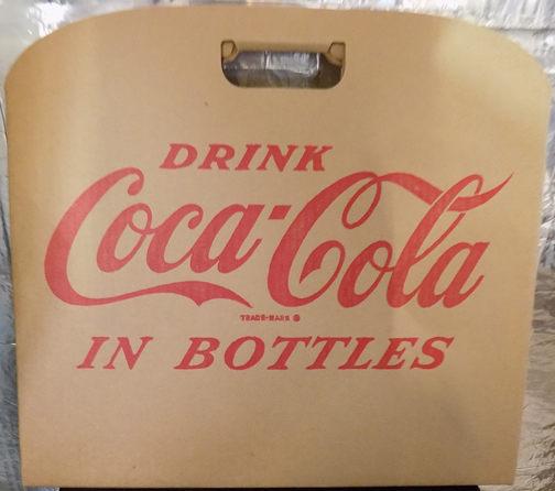 #CC292 - Large Coca Cola Carboard Stadium Seat