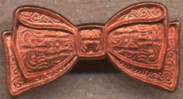 #BEADS0756 - Copper Bow Metal Finding - As low as 35¢