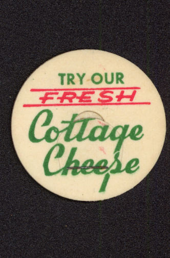 #DC145 - Try our Fresh Cottage Cheese Milk Bottle Cap