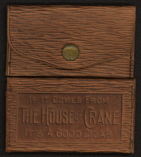 #TOP037 - Early 1900s Leather House of Crane Cigar Leather Change Purse Giveaway
