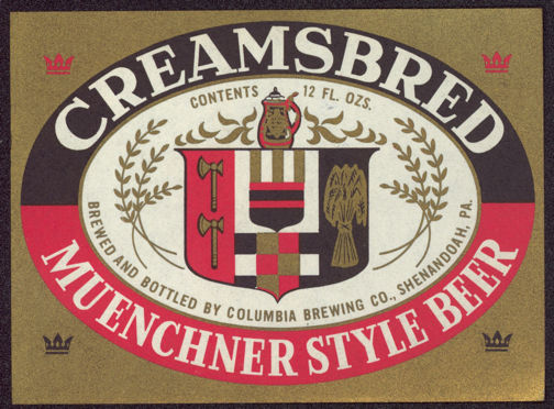 #ZLBE071 - Creamsbred Muenchner Style Beer Label