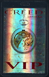 ##MUSICBP0500 - Creed OTTO Laminated VIP Backstage Pass from the Full Circle Tour