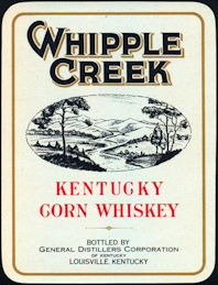 #ZLW078 - Whipple Creek Kentucky Whiskey Label