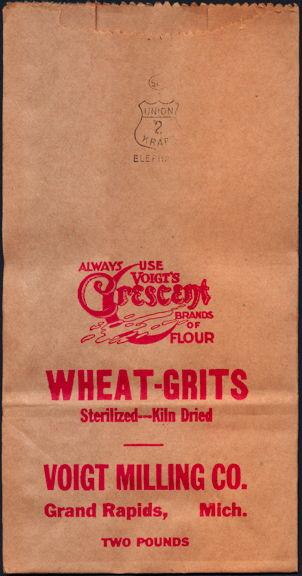 #CS384 - Voigt MIlling Wheat-Grits Bag