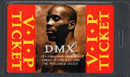 ##MUSICBP0864 - Rare OTTO Laminated DMX Backstage Pass from the It's Dark and Hell is Hot Tour