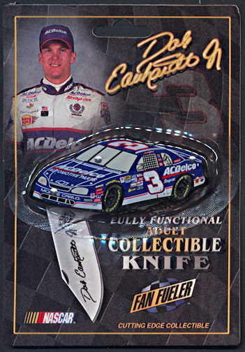 #CA112 - Licensed Dale Earnhardt Jr. Collectible Pocket Knife - Diecut Car #3 - As low as $3 each