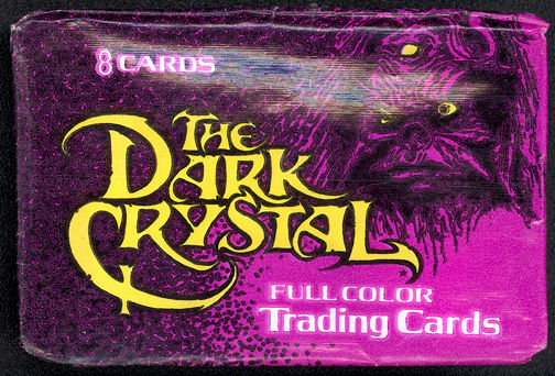 #ZZA205 - 1982 Jim Henson (Muppets) Dark Crystal Card Pack Wrapper
