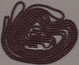 #BEADS0752 - Group of 600 Cherry Brand 6mm Translucent Dark Ruby Glass Beads