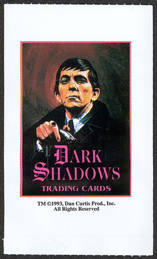#ZZA210 - Dark Shadows Trading Card Bag