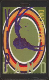 ##MUSICBP0465 - Dave Matthews Laser Foil VIP PERRi Laminated Backstage pass from the 1999 Tour