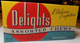 #PC093 - Delights Assorted Chews Candy Box - As low as $2.50 each