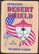 #ZZA047 - 1991 Operation Desert Shield  Waxed Card Pack