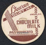 #DC147 - Dewan Dairy Pasteurized Chocolate Milk Bottle Cap