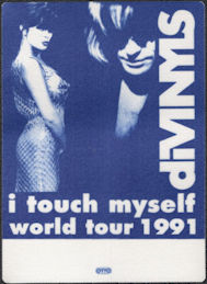 ##MUSICBP0666 - Scarce Divinyls OTTO Backstage Pass for the 1991 I Touch Myself World Tour
