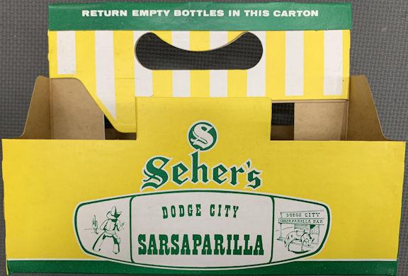 #SOZ119  - Dodge City Sarsaparilla Six Bottle Carton