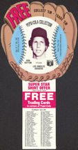 #BA074 - 1977 Pepsi Glove Disc Carton Insert Featuring Don Sutton