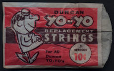 #TY610 - Pack of 2 1960s Duncan Yo-Yo Replacement Strings