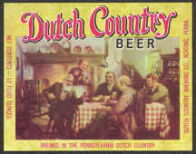 #ZLBE064 - Dutch Country Beer Bottle Label