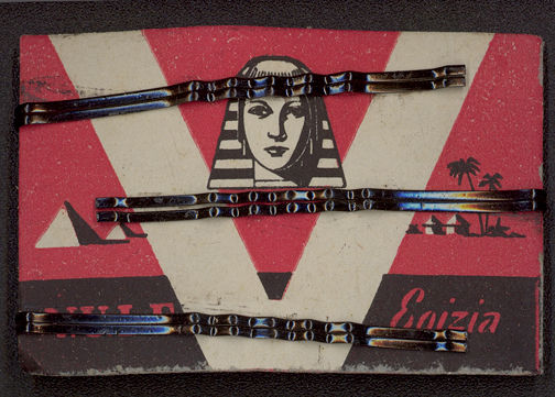 #CS240 - Carded Bobby Pins with Cleopatra and Pyramids