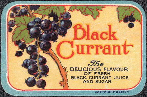 #ZBOT211 - Black Currant Jar Label