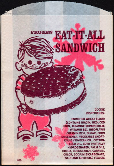 #PC108 - Group of 4 Eat-It-All Ice Cream Sandwich Bags