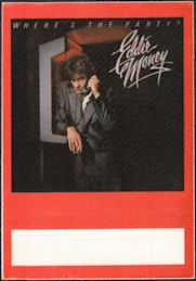 ##MUSICBP0030  - 1983 Eddie Money Where's the Party? Tour OTTO Backstage Pass