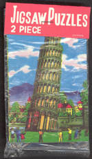 #TY375 - Two Made in Japan Puzzles in  a package - One with Leaning Tower of Pisa