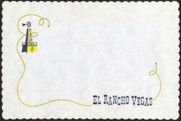 #MS266 - Group of 12 El Rancho Vegas Placemats