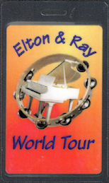 ##MUSICBP0683 - Scarce Elton John and Ray Cooper OTTO Laminated Backstage Pass from the 1994 Elton & Ray World Tour