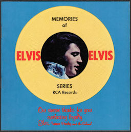 ##MUSICBG0078 - Group of 12 Elvis Presley RCA Record Catalogs