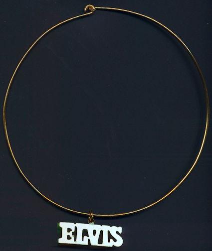 ##MUSICBG0070  - Metal Elvis Choker