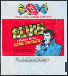 #ZZA256 - 1978 Elvis Trading Card Wrapper