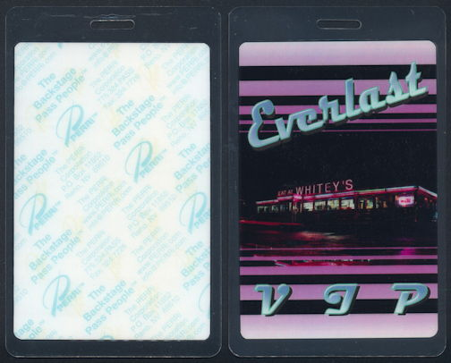 ##MUSICBP0300 - Everlast PERRi VIP Laminated Backstage Pass from the 2000 Eat at Whitey's Tour