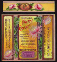 #ZBOT148 - Very Fancy Early Eisemann's Fairy Cream Label with Neck Label - As low as 50¢ each