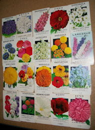#CE152 - Group of Twenty Different Farmer's Supply House Flower Seed Packs