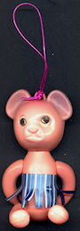 #TY709 - Blow Mold Dangler Bear with Flicker Eyes