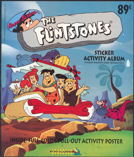 #ZZA248 - Hanna-Barbera The Flintstones Activity Book