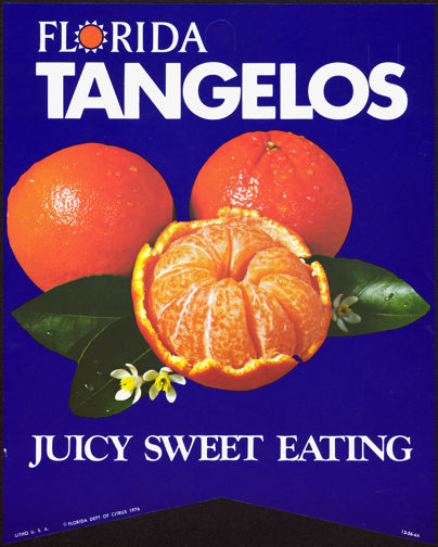 #SIGN115 - Florida Tangelos Paper Banner