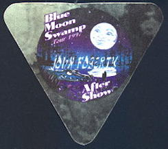 ##MUSICBP0135 - John Fogerty OTTO backstage pass from the Blue Moon Swamp Tour - As low as $1.50 each