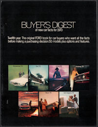 #CA152 - 1970 Ford New Car Buyer's Digest