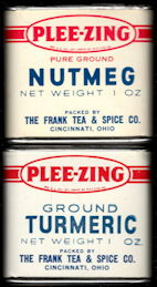 #CS415 - Two Different Full Frank Tea & Spice Tins
