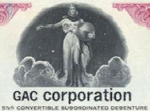 #ZZCE076 - GAC Corporation Subordinate Debenture Certificate - As low as 50¢ each
